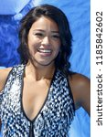gina rodriguez at the los... | Shutterstock . vector #1185842602