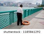 kowloon  hong kong   17... | Shutterstock . vector #1185861292