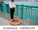 kowloon  hong kong   17... | Shutterstock . vector #1185861295