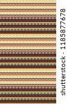 traditional seamless  textile...   Shutterstock . vector #1185877678