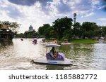 bangkok  thailand   sept 1  ... | Shutterstock . vector #1185882772