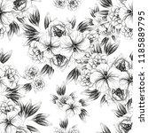 abstract elegance seamless... | Shutterstock . vector #1185889795