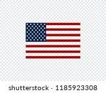 flag usa. american flag. flag... | Shutterstock .eps vector #1185923308