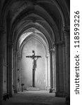 Statue Of Jesus On The Cross I...