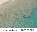 crystal clear water of aegean...   Shutterstock . vector #1185955288