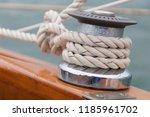 basic boating knot | Shutterstock . vector #1185961702