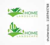 Green House Logo Vector  Green...