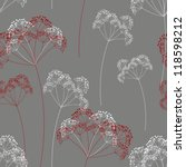 vector floral background.... | Shutterstock .eps vector #118598212