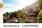 favela in cosme velho district...   Shutterstock . vector #1185999982