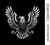 eagle symbol illustration...   Shutterstock .eps vector #1186028818