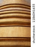 layers of different curvilinear ... | Shutterstock . vector #1186041655