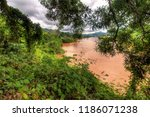 the surroundings of hsipaw | Shutterstock . vector #1186071238