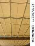 cable tensioning awnings as an... | Shutterstock . vector #1186073335