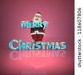 merry christmas | Shutterstock . vector #118607806
