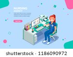 concept with characters ... | Shutterstock .eps vector #1186090972