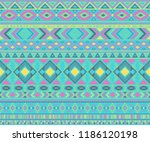 peruvian american indian... | Shutterstock .eps vector #1186120198