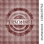 personnel red seamless emblem... | Shutterstock .eps vector #1186135762