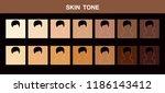 skin tone  vector icon | Shutterstock .eps vector #1186143412