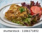italian parmesan pork chops ...   Shutterstock . vector #1186171852