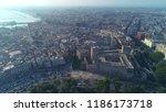 drone photo. sunrise. swabian...   Shutterstock . vector #1186173718