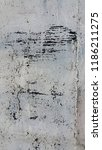 weathered torn peeled obsolete... | Shutterstock . vector #1186211275