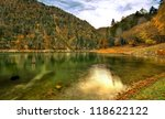 suluklu lake is located in... | Shutterstock . vector #118622122
