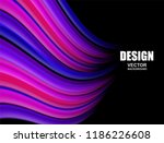 abstract. colorful fluid... | Shutterstock .eps vector #1186226608