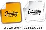 premium quality stickers | Shutterstock .eps vector #1186257238
