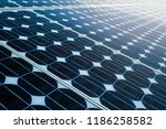 Texture Of  Photovoltaic Panel...
