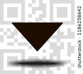 undo arrow icon  motion icon....   Shutterstock .eps vector #1186258642