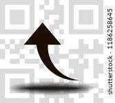 undo arrow icon  motion icon....   Shutterstock .eps vector #1186258645