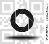 aperture  camera lens symbol | Shutterstock .eps vector #1186258678