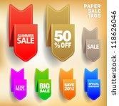 vector illustration of paper...   Shutterstock .eps vector #118626046