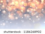 christmas background with... | Shutterstock .eps vector #1186268902