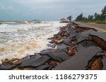 Road Damage Caused By Sea Waves ...