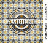 ambient arabic style badge.... | Shutterstock .eps vector #1186285075