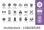 vector innovation technology...   Shutterstock .eps vector #1186285285