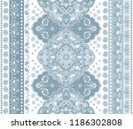 indian rug tribal ornament... | Shutterstock .eps vector #1186302808