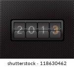 new year counter | Shutterstock .eps vector #118630462
