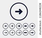 directional arrow icon  vector...