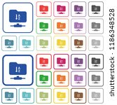 ftp sort ascending color flat...   Shutterstock .eps vector #1186348528