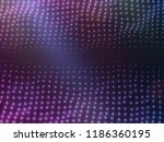 abstract magenta particles... | Shutterstock .eps vector #1186360195