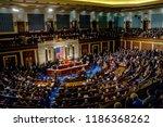 washington  dc.  usa  january 3 ... | Shutterstock . vector #1186368262
