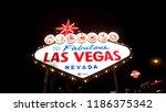 las vegas  nevada  united... | Shutterstock . vector #1186375342