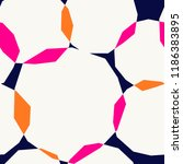 seamless repeating pattern with ... | Shutterstock .eps vector #1186383895