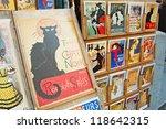 montmartre   october 31  the... | Shutterstock . vector #118642315