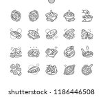 mexican food well crafted pixel ... | Shutterstock .eps vector #1186446508