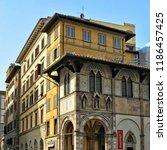 italian architecture. nice... | Shutterstock . vector #1186457425