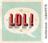 """lol "" popular expression  ...   Shutterstock .eps vector #118645978"