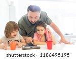 kids at home | Shutterstock . vector #1186495195